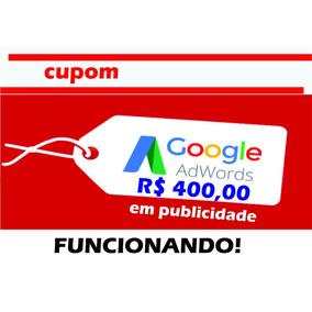 Cupom Google Adwords Promoção (ultima Semana)
