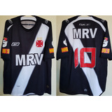 02292a0e8c Camisa Oficial Futebol Vasco Reebok Mrv Habibs 2008   10