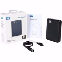 Hd Externo 2tb Western Digital Wd Elements Usb 3.0 Wd 2 Tera