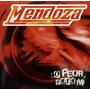 Cd Mendoza Lo Peor Para Mi Promo Usado