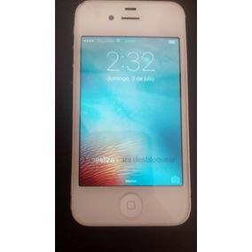 Iphone 4s De 16gb Liberado Para Todas Las Compañias Blanco
