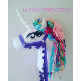 Unicornio Pony Caballito De Palo