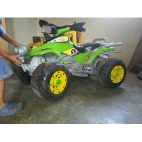 Moto De 4 Ruedas A Batería Para Niños