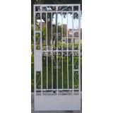 Puerta Metalica De Fierro Para Casa En Mercado Libre Peru - Fotos-de-puertas-metalicas-para-casas