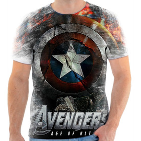 Camiseta Blusa Personalizada Avengers Vingadores Heróis Hd11
