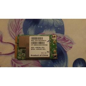 Targeta De Red Wifi Laptop Hp / Compaq / Dell / Toshiba