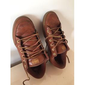 Zapatillas Cuero Circa Marrones