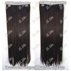 Cabelo Tic Tac Fibra Japonesa Kit 2 Pecas 60cm + 1 Peca 75cm