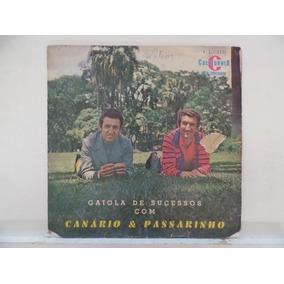 Lp Gaiola De Sucessos Com Canário E Passarinho