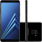 Smartphone Samsung Galaxy A8 Plus 6 64gb 16mp Preto