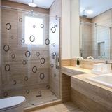 Adesivo Box De Banheiro Bolhas De Sabão 60x50cm