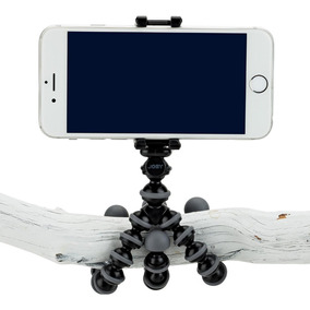 Mini Tripé Flexível Articulado Universal + Suporte Celular