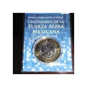 Moneda Conmemorativa De La Fuerza Aérea Mexicana