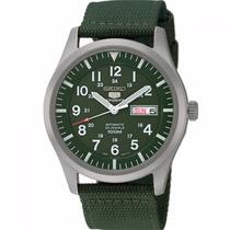 Relógio Seiko 5 Military Automático Snzg09b1 + Frete