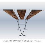 Mesa Heva. [madera Enclaustrada]