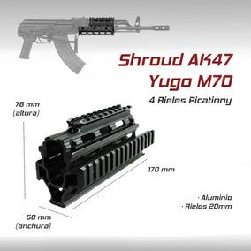 Guardamanos Tactico Militar Shroud Ak47 Gotcha Airsoft