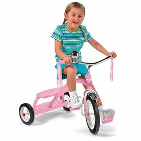 Triciclo Velocípede Infantil Radio Flyer Rosa Pronta Entrega