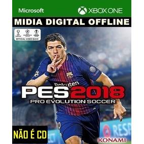 Futebol Pes 2018 Português Xbox One Offline Barato Promoção