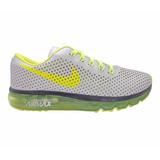 Tênis Nike Air Max Motion Prata E Verde Limão