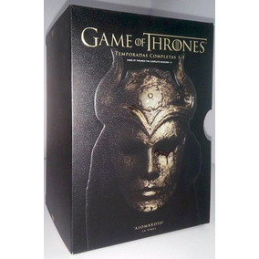 Game Of Thrones Juego De Tronos Temporadas 1 - 5 Boxset Dvd