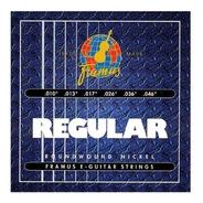 Cuerdas Para Guitarra Electrica Framus Regular 010 0.10 046