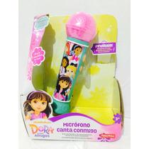 Dora Microfono Canta Conmigo Fisher Price Nuevo Dgw52