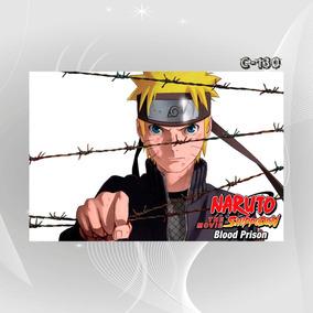 Poster Anime Mangas Blood Prision Jcm Naruto Decoracao Casa