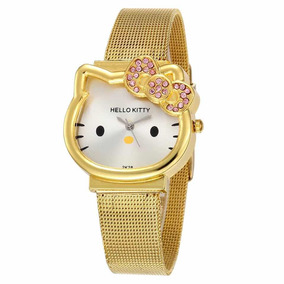 Relojes De Hello Kitty | Golden Y Plata .