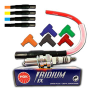 Kit Esportivo Vela Iridium + Cabo Ibooster F3 Cg 150 Titan