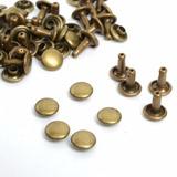 Remaches 1cm 10/10 Niquelado/oro Italiano X 1000 Oferta!