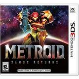 Metroid Samus Returns - Nuevo, Sellado