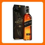 Johnnie Walker Black Label Whisky - 1 Litro - Con Caja -