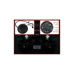 Jeep Faro De Luz (pair) 75w Phillips Led H4 H13 Drl Hi / Lo