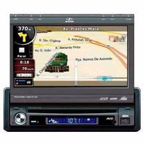 Dvd Retrátil 7 C/ Gps H-buster Hbd9650/9660/9750 Usb Ent Aux