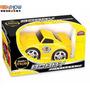 Carrinho Carro Movido A Fricção Brinquedo Criança Amarelo