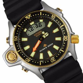 Relógio Citizen Aqualand Jp2004-07 Série Ouro Original !