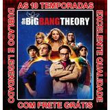 Big Bang: A Teoria Todas As 10 Temporadas Com Frete Grátis