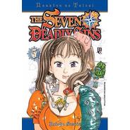 The Seven Deadly Sins 5! Jbc Lacrado! Com Marcador De Pagina