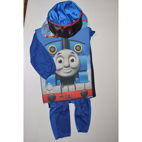 Disfraz Niño Trenecito Thomas O Conductor De Tren Talla 1