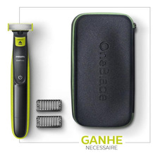Kit Oneblade Qp2521 Bivolt + Necessaire Philips