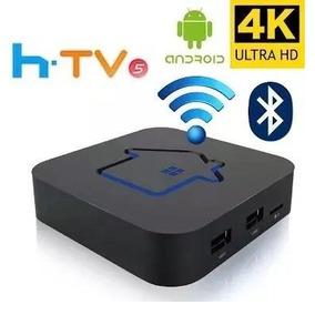 Htv Box 5 Smart Tv 4k Bluetooth Wi-fi ( Pronta Entrega! )