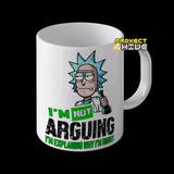 Taza Rick And Morty No Discuto Explico Porquetengo Razon