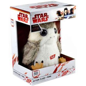 Porg Peluche Animado 25cm Tamaño Real Star Wars Last Jedi