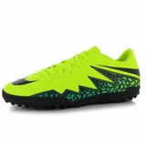 Nike Tacos Football Soccer Zapatos Tachon Hypervenom Neon