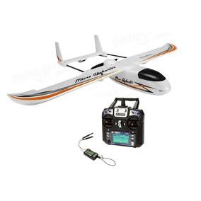 Avion Rc Eachine Micro Skyhunter Pnp + Radio Flysky I6