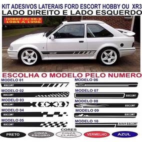 Acessorios Adesivos Faixa Lateral Ford Escort Hobby Ou Xr3