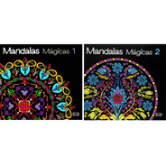 Mandalas Mágicas 1 E 2 Livro De Colorir Compre Junto