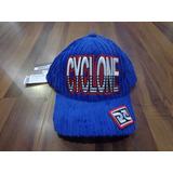 Boné Cyclone Veludo Roxo New York