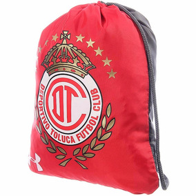 Mochila Ozsee Sackpack Club Toluca 16 Under Armour Ua1745