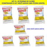 Kit 6 Pedras De Cloro 200g E Ganhe Uma Gratis 3x1 Genco = Rj